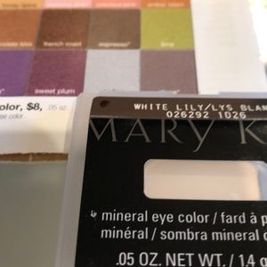 NEW Marykay mineral eye color, White Lily